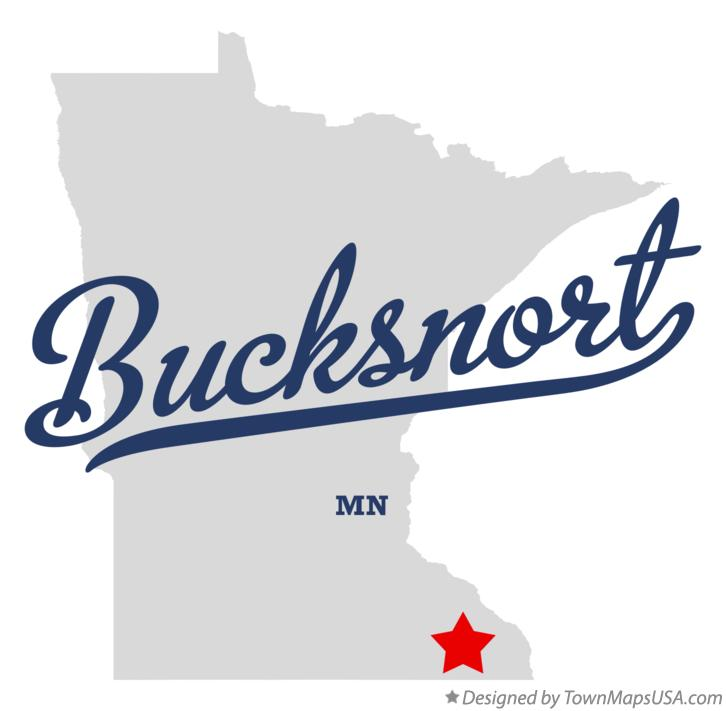 Map of Bucksnort Minnesota MN