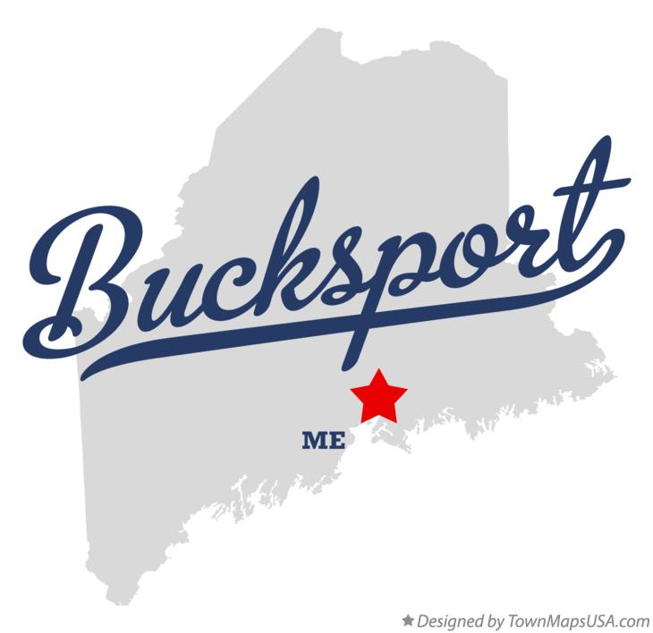 Map of Bucksport Maine ME