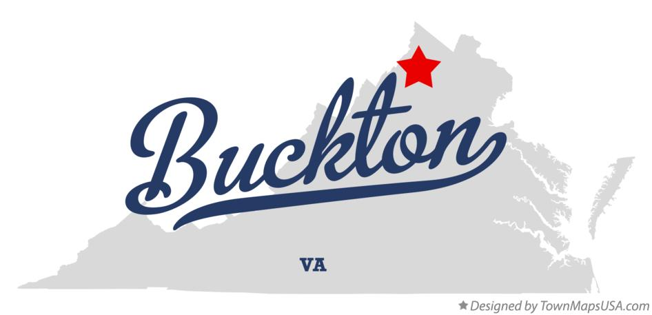 Map of Buckton Virginia VA