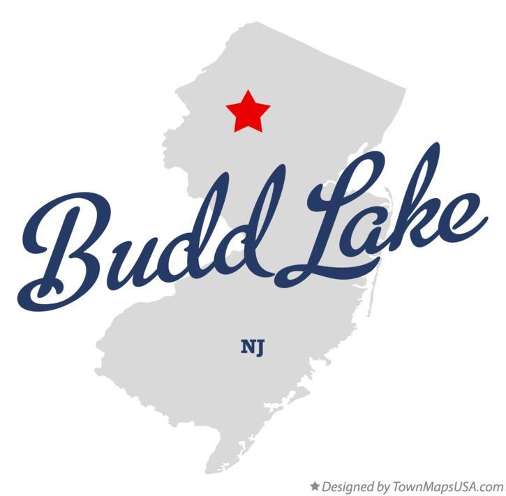 budd lake nj map Map Of Budd Lake Nj New Jersey budd lake nj map