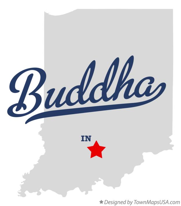 Map of Buddha Indiana IN