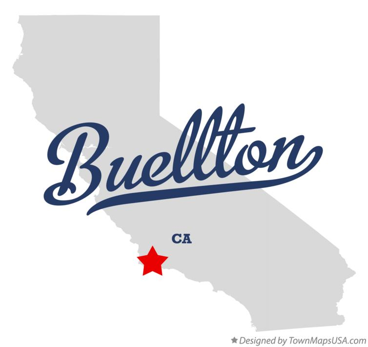Map of Buellton CA California