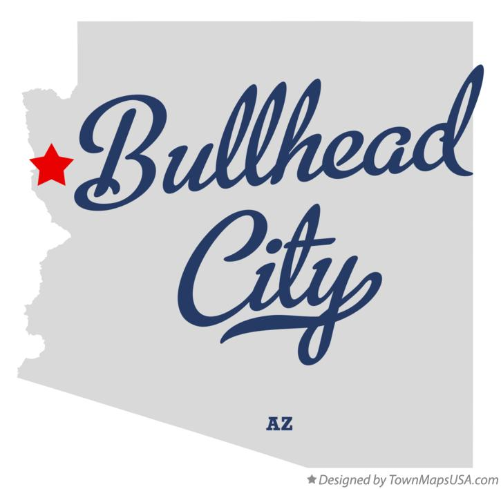 Map Of Arizona Bullhead City.Map Of Bullhead City Az Arizona