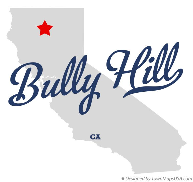 Map of Bully Hill California CA