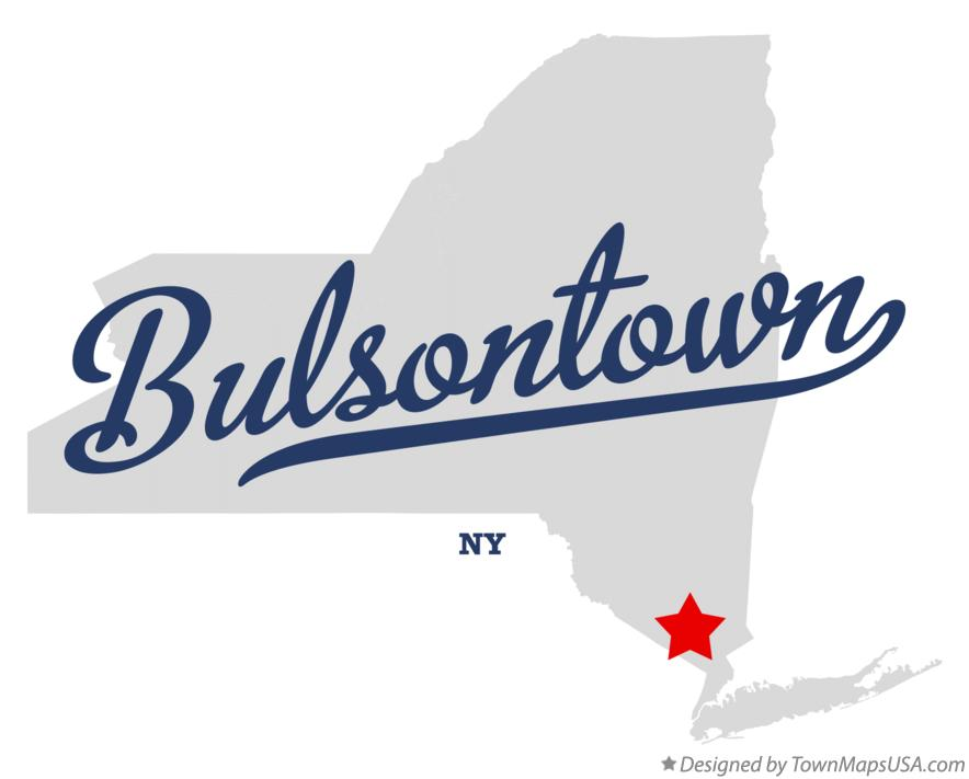 Map of Bulsontown New York NY