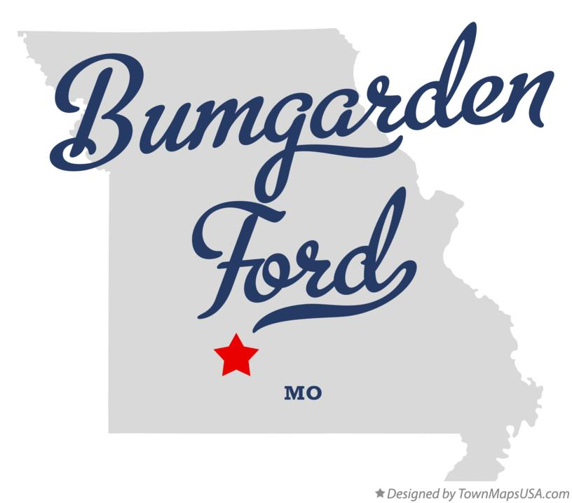 Map of Bumgarden Ford Missouri MO