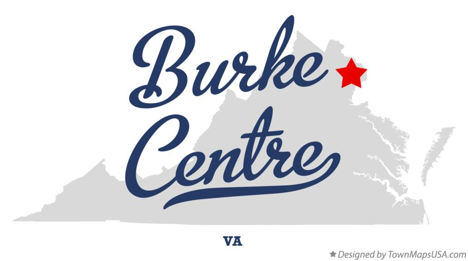 Map of Burke Centre Virginia VA