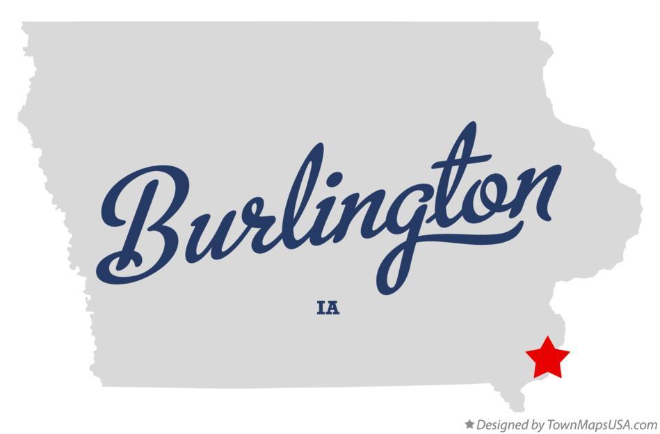 map of burlington iowa Map Of Burlington Ia Iowa map of burlington iowa