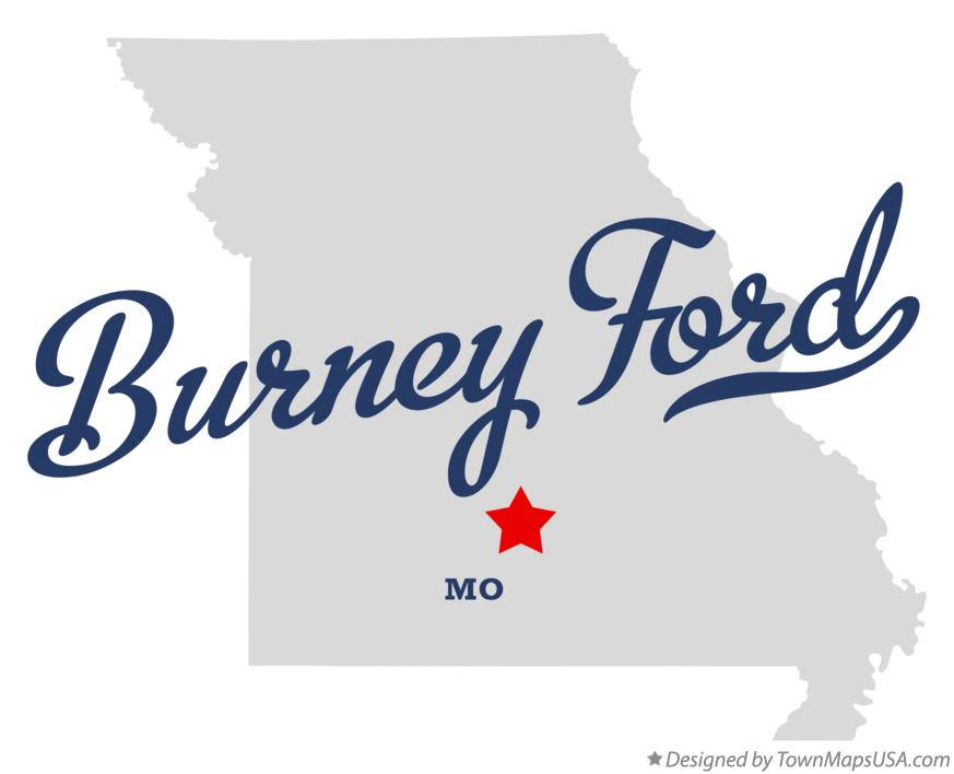 Map of Burney Ford Missouri MO