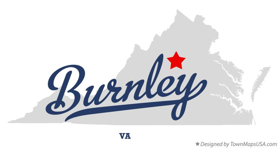 Map of Burnley Virginia VA