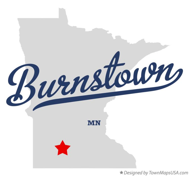Map of Burnstown Minnesota MN