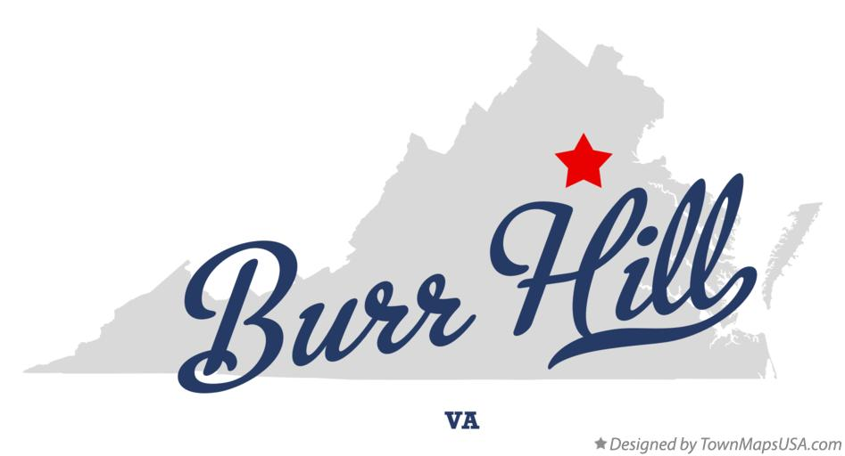 Map of Burr Hill Virginia VA
