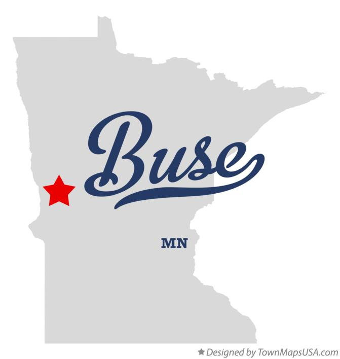 Map of Buse Minnesota MN