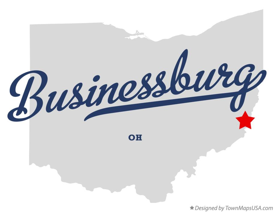 Map of Businessburg Ohio OH