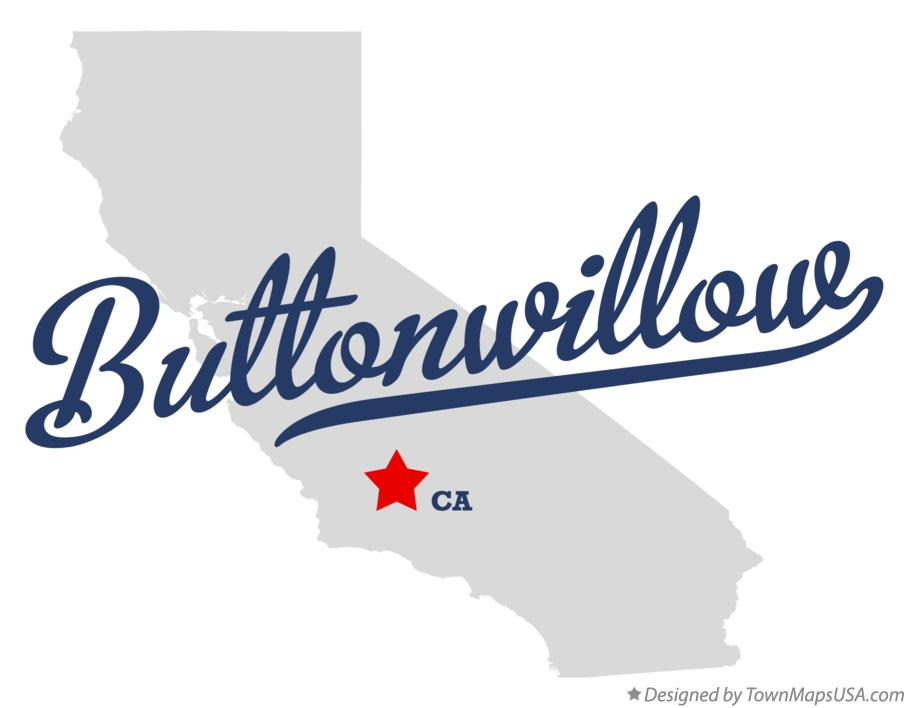 Map of Buttonwillow California CA