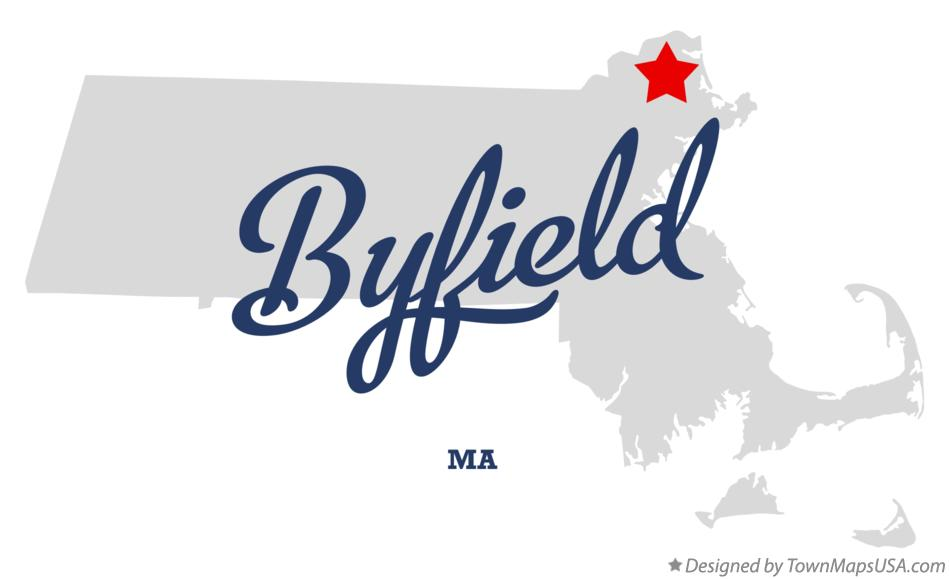 Map of Byfield Massachusetts MA