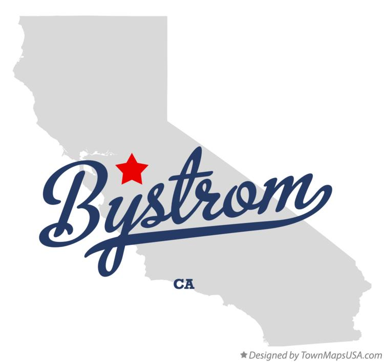 Map of Bystrom California CA