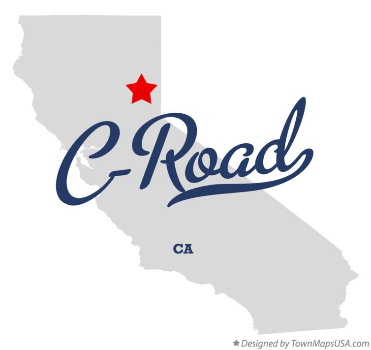 Map of C-Road California CA