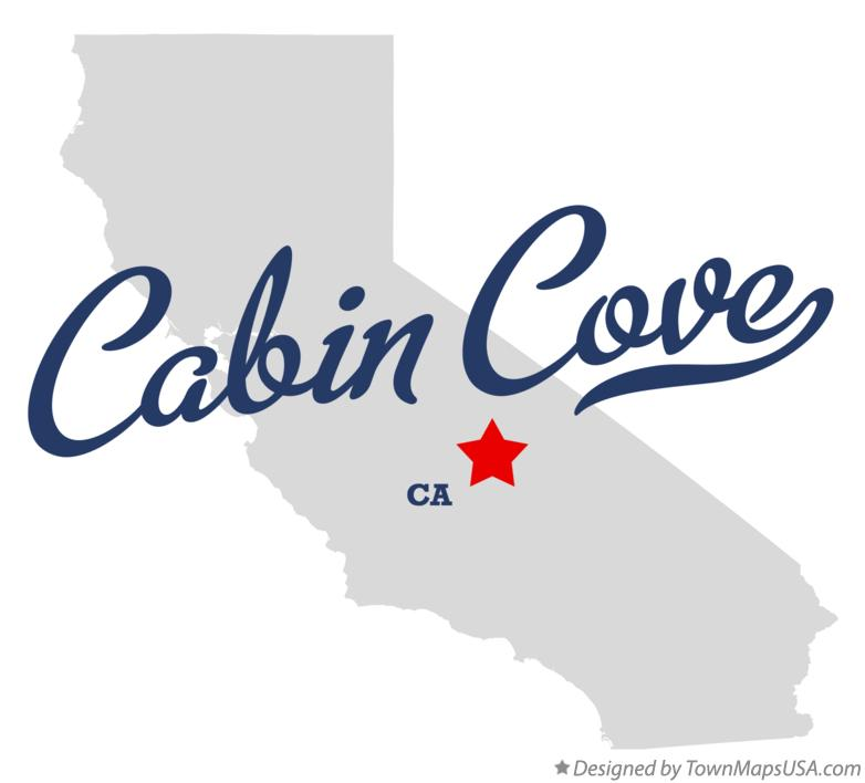 Map of Cabin Cove California CA