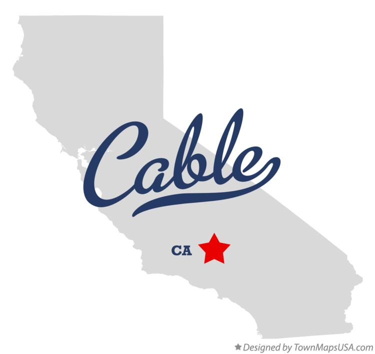 Map of Cable California CA