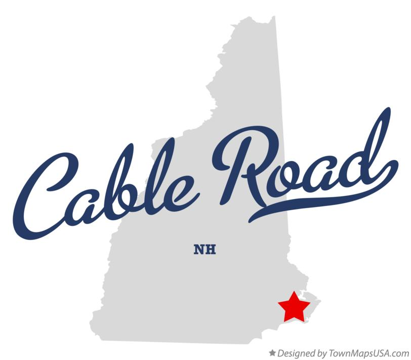 Map of Cable Road New Hampshire NH