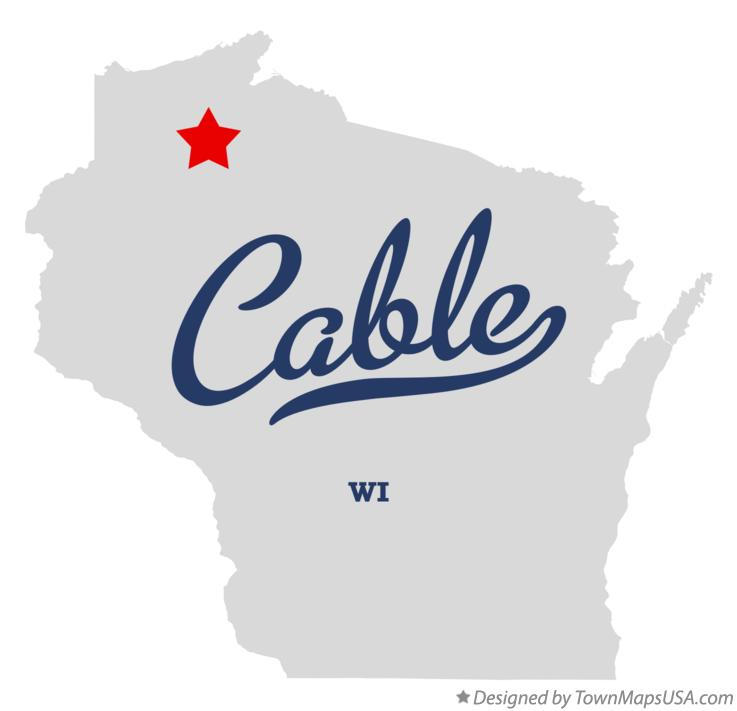 Map of Cable Wisconsin WI