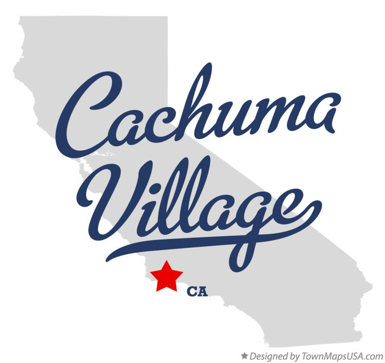 Map of Cachuma Village California CA