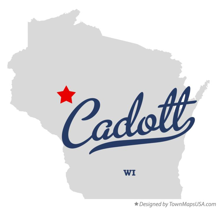 Map of Cadott Wisconsin WI
