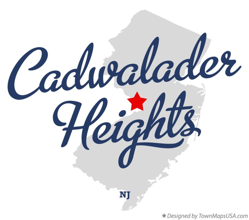 Map of Cadwalader Heights New Jersey NJ