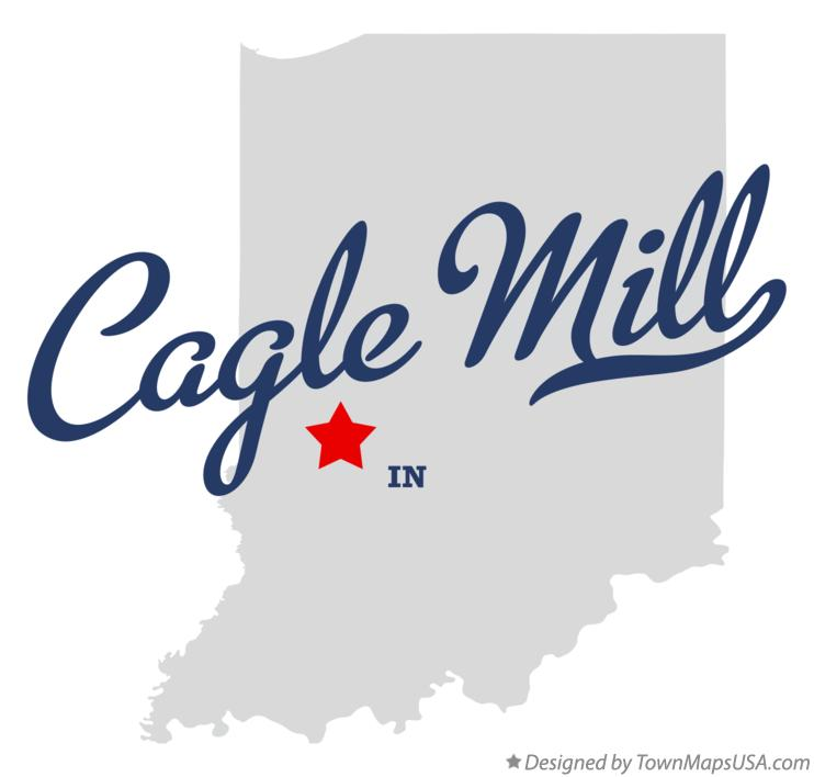 Map of Cagle Mill Indiana IN