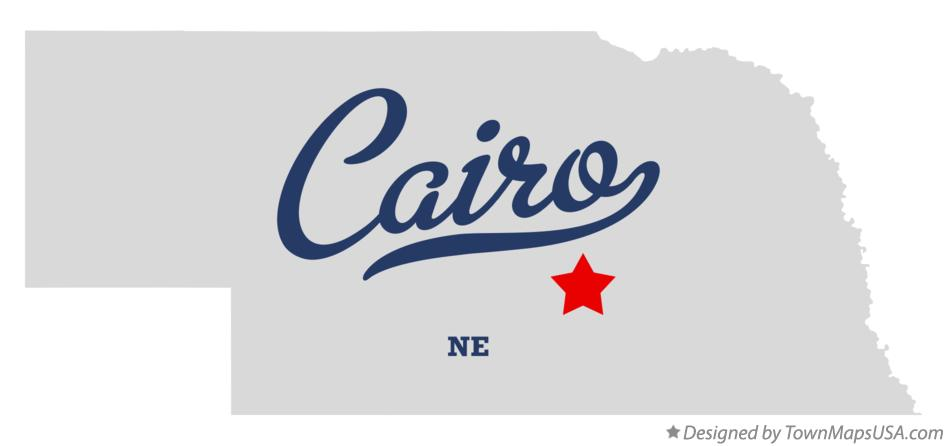 Map of Cairo Nebraska NE