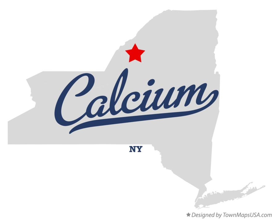 Map of Calcium New York NY