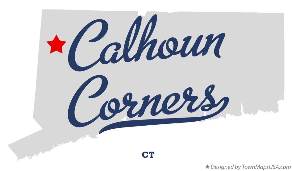 Map of Calhoun Corners Connecticut CT