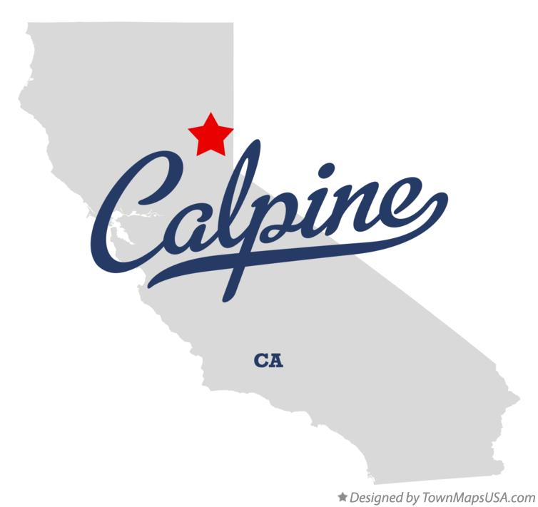 Map of Calpine California CA