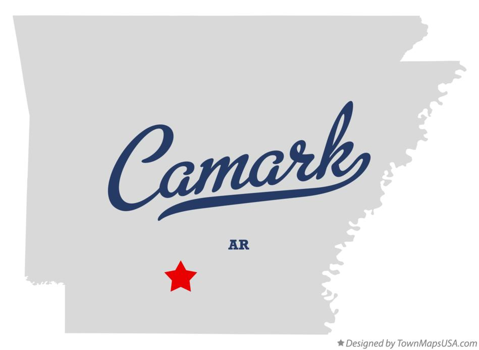 Map of Camark Arkansas AR