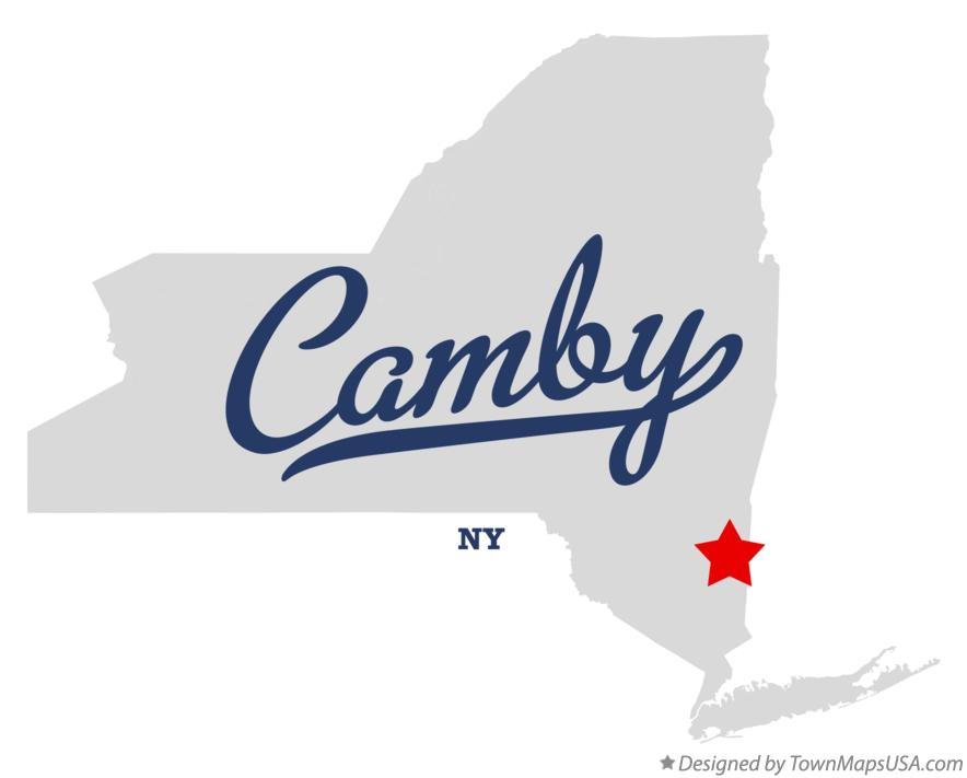 Map of Camby New York NY