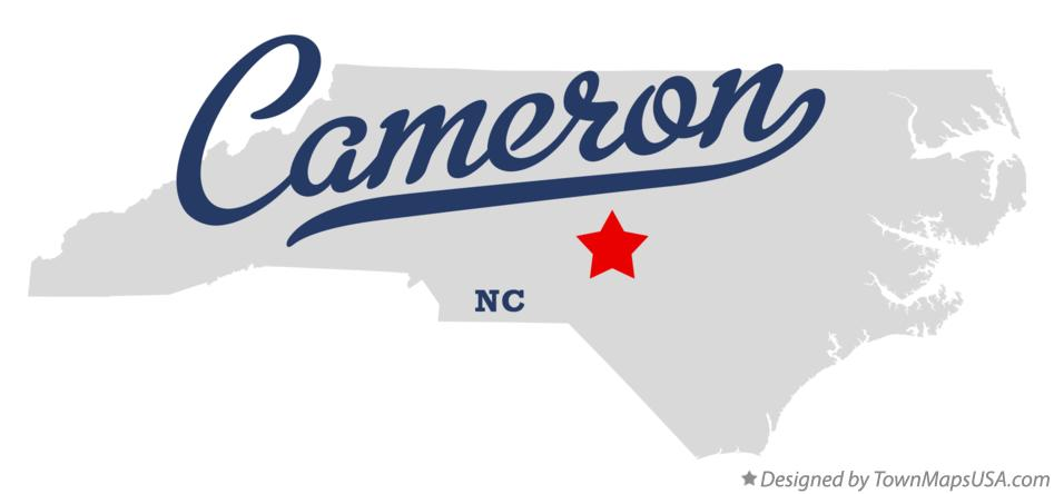 Map of Cameron North Carolina NC