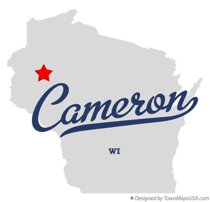 Map of Cameron Wisconsin WI