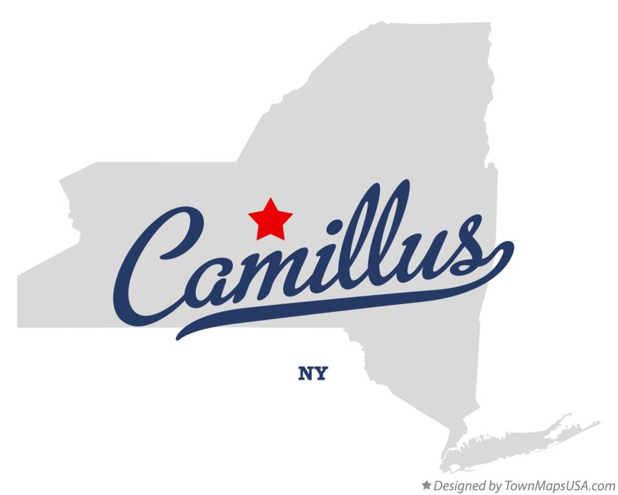 Map of Camillus New York NY