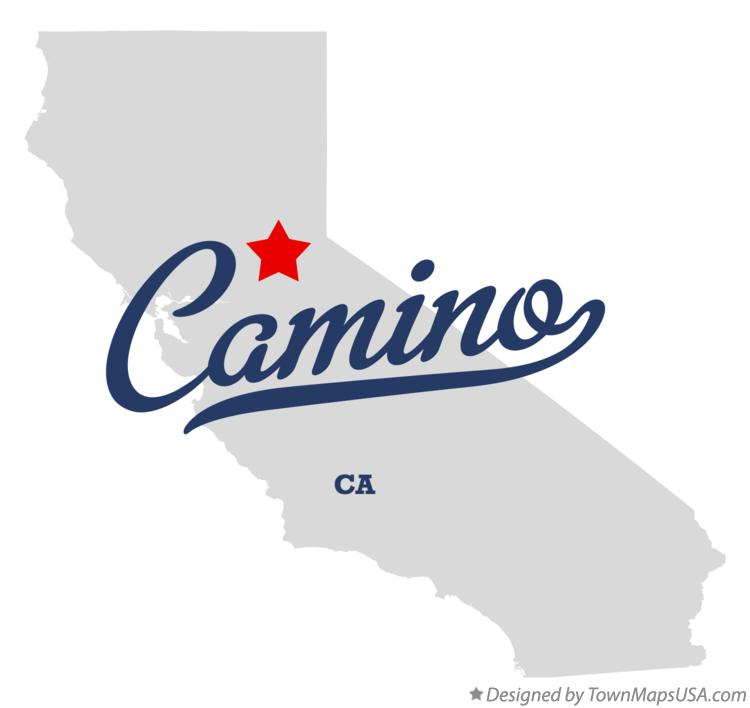 Map of Camino California CA