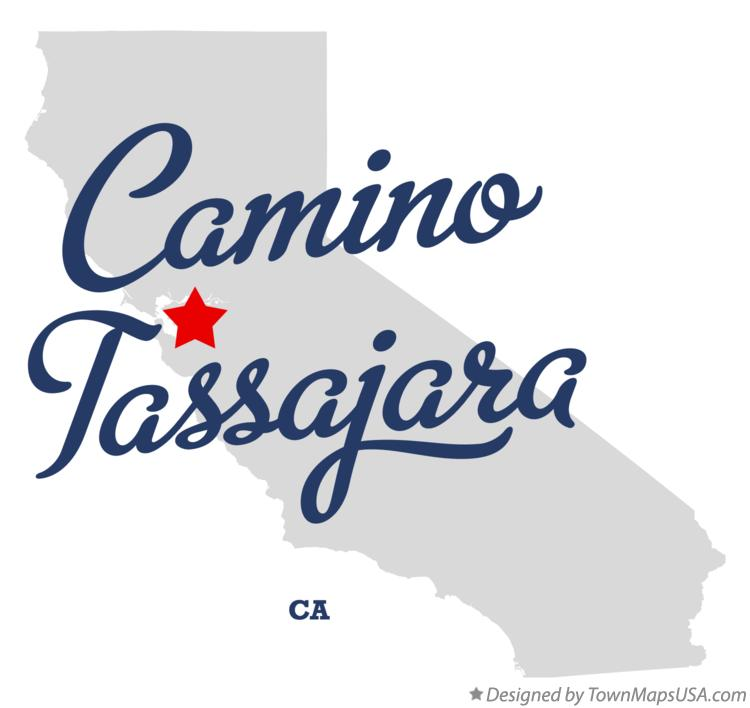 Map of Camino Tassajara California CA