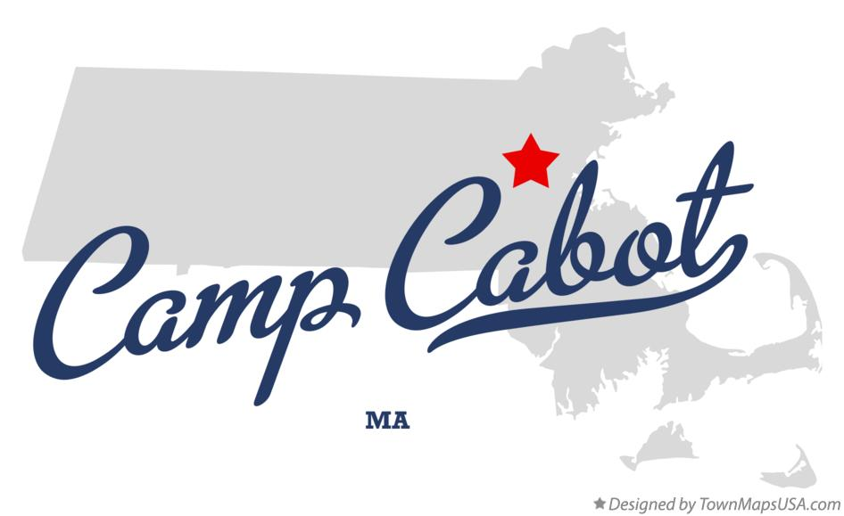 Map of Camp Cabot Massachusetts MA