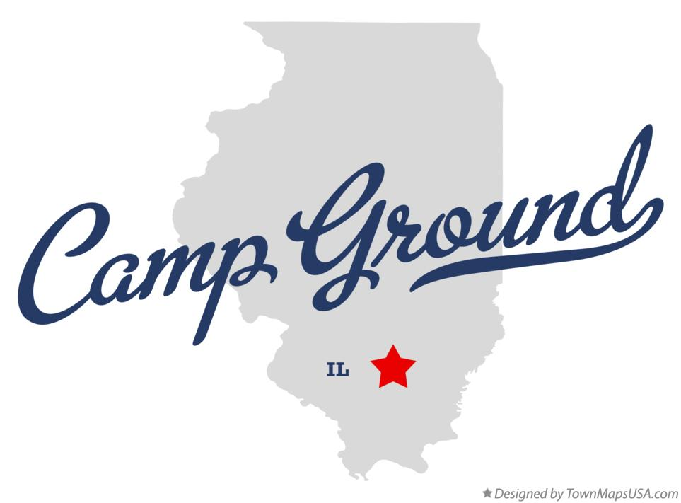 Map of Camp Ground Illinois IL