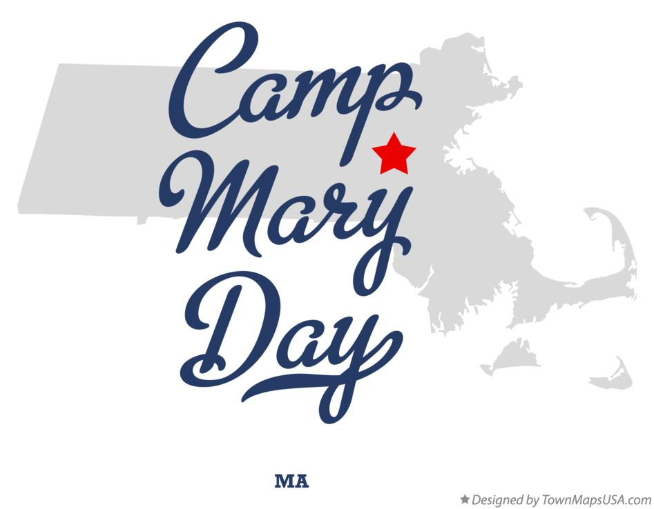 Map of Camp Mary Day Massachusetts MA