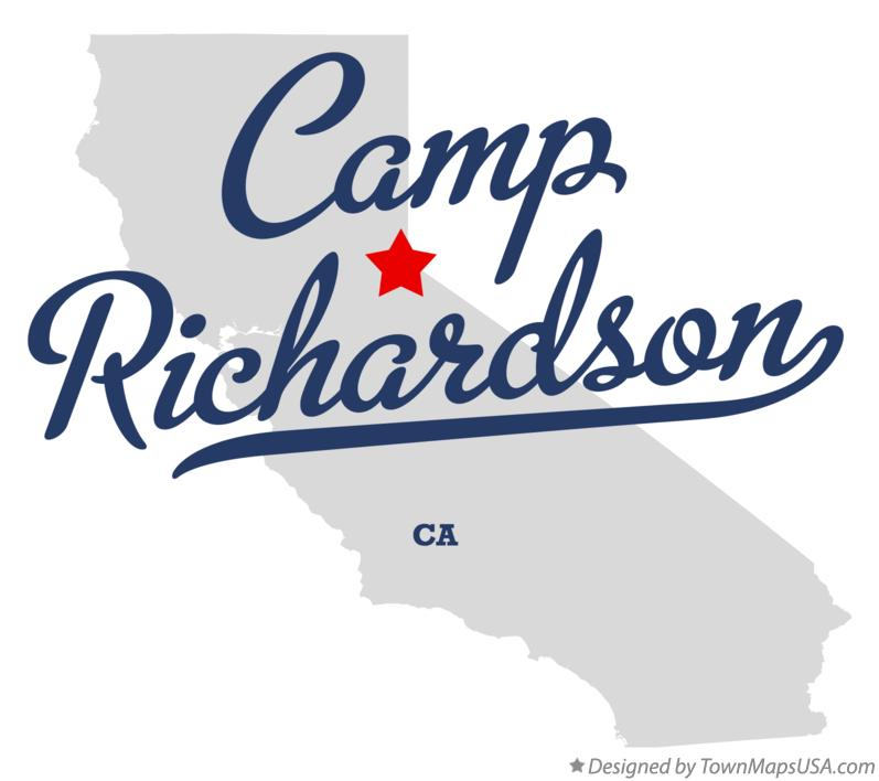 Map of Camp Richardson California CA