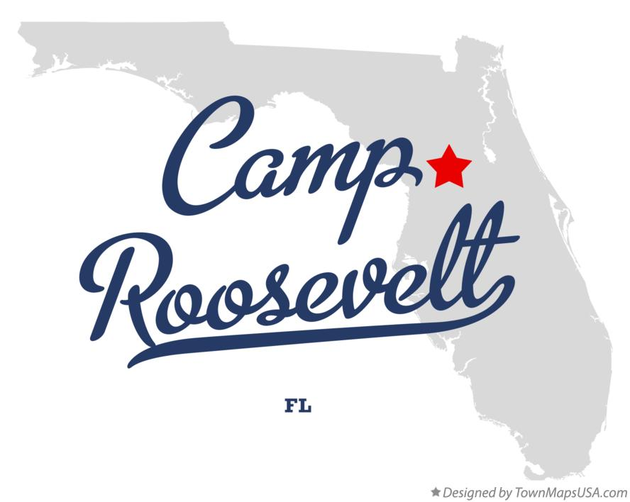Map of Camp Roosevelt Florida FL