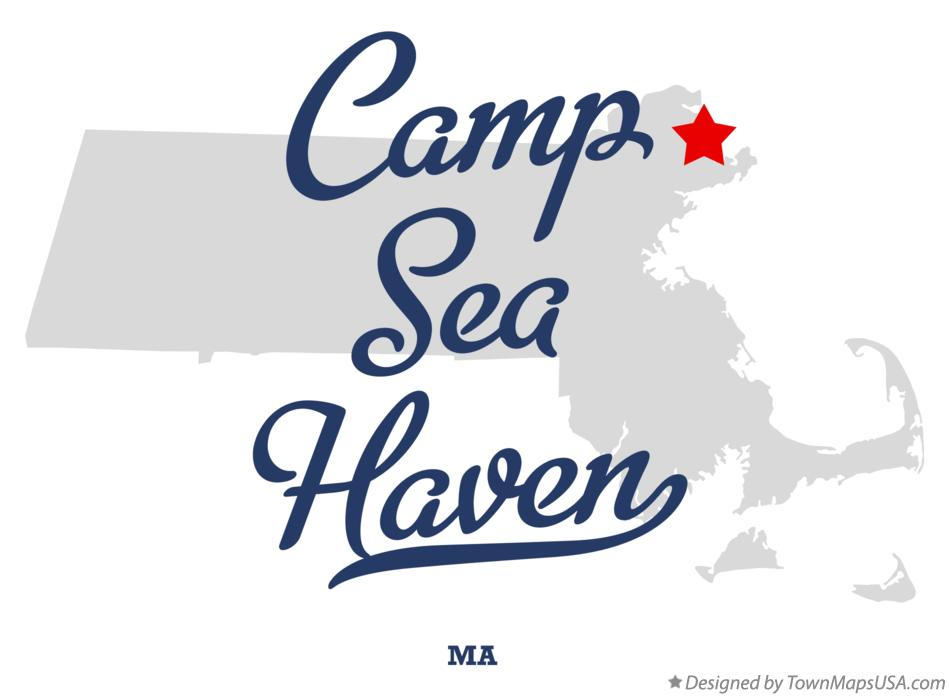 Map of Camp Sea Haven Massachusetts MA