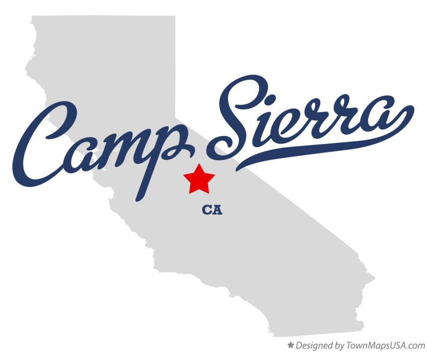 Map of Camp Sierra California CA