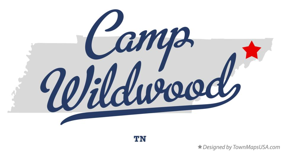 Map of Camp Wildwood Tennessee TN