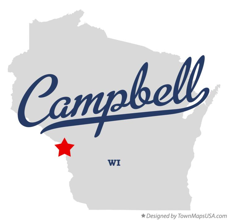 Map of Campbell Wisconsin WI